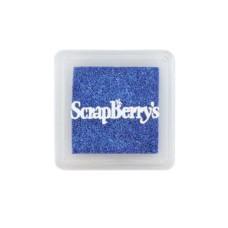 Пигментные чернила, 2.5х2.5 см, цвет мерцающий небесно-голубой от Scrapberry's