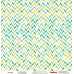 Двусторонняя скрапбумага Солнечные волны 30х30 см от Scrapberry's