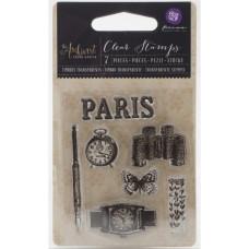Акриловый штамп Paris, 6,3х7,6 см от компании Prima