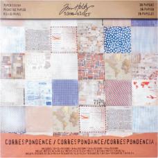 """Набор бумаги """"Correspondence"""", 36 листов от Tim Holtz"""