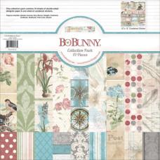 """Набор бумаги """"Garden Journal"""" 30х30 см 18 листов от Bo-Bunny"""