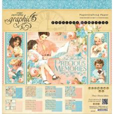"Набор бумаги ""Precious Memories"" 12 листов 30х30 см от Graphic 45"