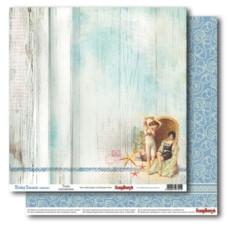Двусторонняя бумага Трепетные воспоминания 30х30 см от ScrapBerry's