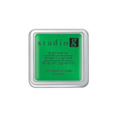Пигментные чернила для штампинга Light Green, 5х5 см, от Hampton Art