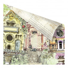 Двусторонняя бумага Garden Fable, 30х30 см от компании Prima