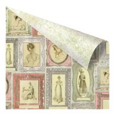 Двусторонняя бумага Sensibility, 30х30 см от компании Prima