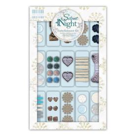 Набор украшений Silent Night Embellishment Kit от First Edition