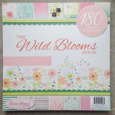Набор скрапбумаги Wild Blooms 60 листов 30х30 см от DCWV