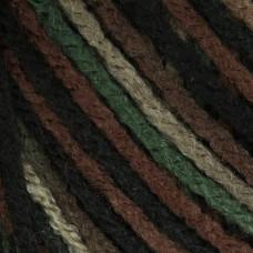 Пряжа для вязания Bernat Super Value Ombre Yarn - Renegade - Camouflage, 142 грамм, акрил