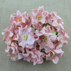 Декоративный цветок гардении 60 мм PALE PINK, 1 шт.