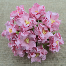 Декоративный цветок гардении 60 мм BABY PINK