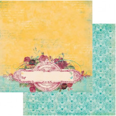 Двусторонняя скрапбумага Ambrosia Marigold от Bo Bunny