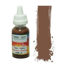 """Акриловая краска """"Деко акрил""""- Молочный шоколад, 40 мл от Фабрика Декора"""