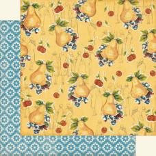 Двусторонняя бумага для скрапбукинга 30х30 см Sitting Pretty от Graphic 45