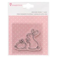 Акриловый штамп  My Baby – Bunny от Imaginisce