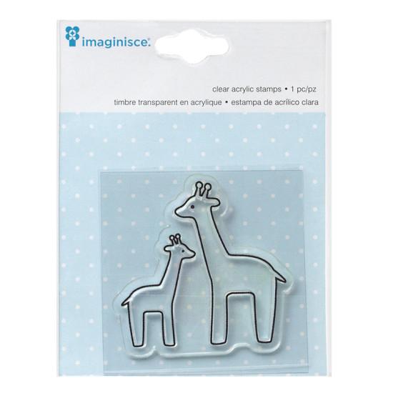 Акриловый штамп  My Baby – Giraffe от компании Imaginisce