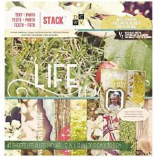 Набор бумаги Text Plus Photo, размер 30*30 см , 21 лист от DCWV