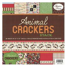 Набор бумаги Animal Crackers, 30*30 см, 24 листа от DCWV