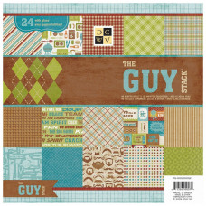 Набор бумаги The Guy, 30*30 см, 24 листа от DCWV