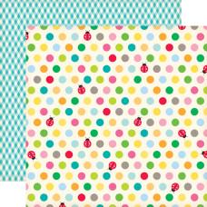 Двусторонняя бумага Little Ladies 30х30 см от Echo Park