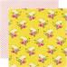 Двусторонняя бумага Big Flowers 30х30 см от Echo Park