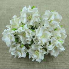 Декоративный цветок гардении IVORY, 4 см., 1 шт.
