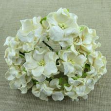 Декоративный цветок гардении DEEP IVORY, 4 см., 1 шт.