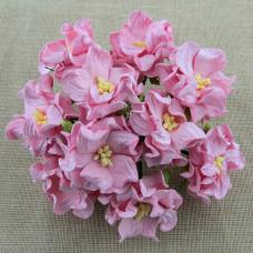 Декоративный цветок гардении BABY PINK, 4 см., 1 шт.