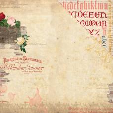 Двусторонняя бумага Amore 30х30 см от Bo-Bunny