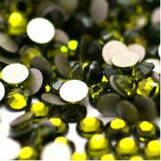 Набор страз оливкового цвета, 4 мм, 20 шт.