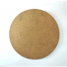 Заготовка из ДСП универсальная, круглая, диаметр 15,3 см, толщина 0,4 см
