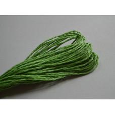 Бумажный шнур однотонный зеленый, 1,5 мм, 1 м