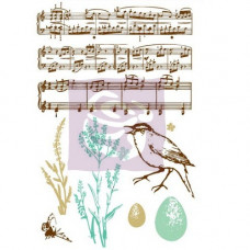 Набор акриловых штампов Songbird от Prima