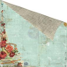 Двусторонняя бумага 30х30 Cigar Box Secrets - Perfecto от Prima