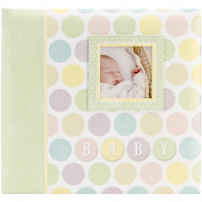 Альбом для скрапбукинга Baby Circles, размер 30*30 см от MBI