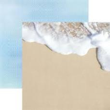 Двусторонняя бумага Seashore , размер 30*30, 1 шт от Paper House