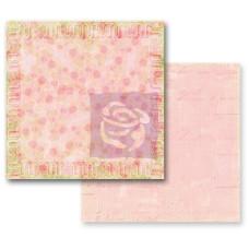 Двусторонняя бумага для скрапбукинга Sonnet от Prima