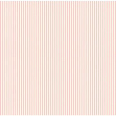Бумага Pink & Ivory Ribbon Stripe, 30*30 см от Canvas Corp