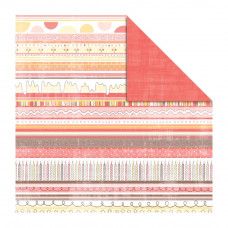 Двусторонняя бумага Icing, Sugar Sugar,  30х30 от Kaisercraft
