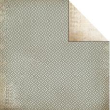 Двусторонняя бумага Lotus 30х30 от Kaisercraft