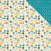 Двусторонняя бумага Icons 30х30 см от Echo Park