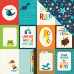 "Двусторонняя бумага Journaling Cards 3""X4"" 30х30 см от Echo Park"