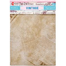 Бумага для декупажа, Vintage 3 , 2 листа 40*60 см от Santi