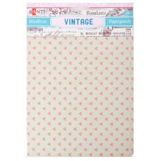 Бумага для декупажа, Vintage 6 , 2 листа 40*60 см от Santi
