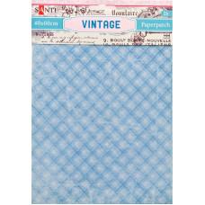 Бумага для декупажа, Vintage 7 , 2 листа 40*60 см от Santi
