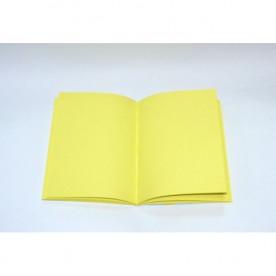 Блок для изготовления блокнотов, А5, желтый №2, 80 г/м2 от Hobby&You