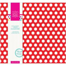 Альбом для скрапбукинга тканевый Brights 30x30 см, 10 файлов от Papermania