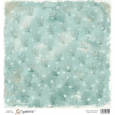 Бумага для скрапбукинга Magical Turquoise, 30*30 см от Magnolia