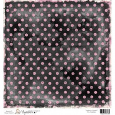 Бумага для скрапбукинга Pink Dot 30*30 см от Magnolia