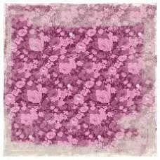 Бумага для скрапбукинга Pink Romance 30*30 см от Magnolia